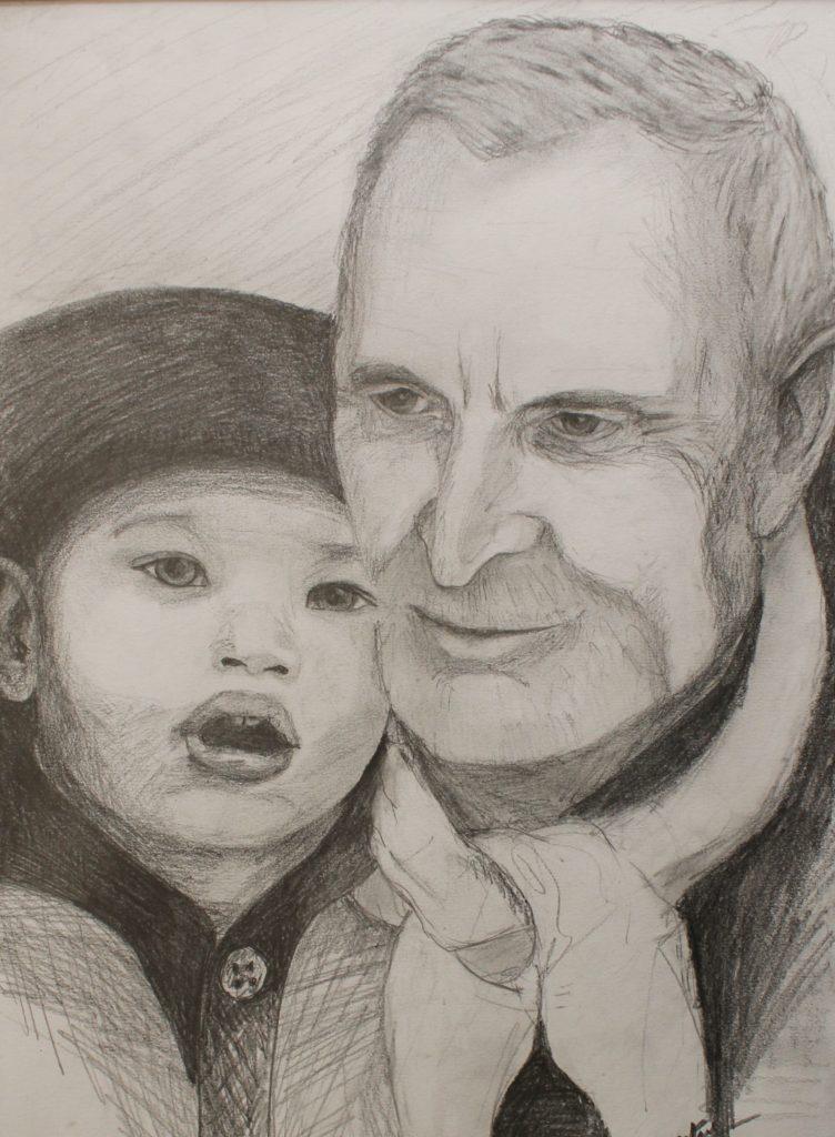 Mon père et mon petit fils