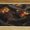 Fiction - huile sur toile 100 x 50 -  250€ non encadrée