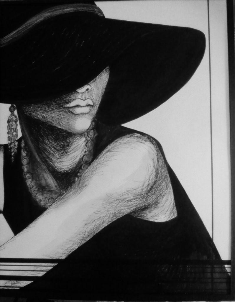 Femme élégante